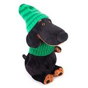 Budi Basa Мягкая игрушка Ваксон в зеленой шапке и шарфе Vaks29009 фото