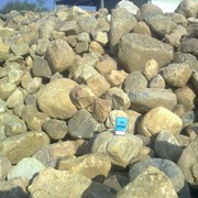 Камень карьерный, валуны фото
