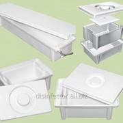 Ванна емкость контейнер для дезинфекции и стерилизации медицинских стоматологических маникюрных инструментов фото
