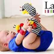 Детские игрушки-погремушки на ручки и ножки Lamaze фото