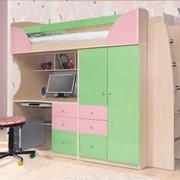 Детская комната Комби фисташкарозовый фото