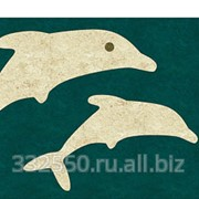 Фигурная вставка Дельфины, В-50 фото