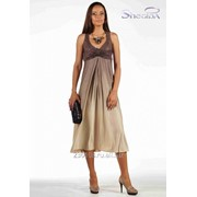 Платье 1728 Бежевый цвет фото