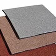 Квадратная однотонная плитка PlayMix без рисунка для лестниц фото