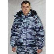 Куртка зимняя камуфлированная (ткань Оксфорд) фото
