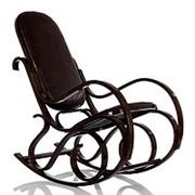 Кресло-качалка Формоза кожа фото