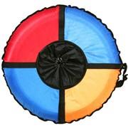 Санки-ватрушки Радуга M фото