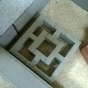 Элемент ограждения (газонная плитка) фото