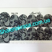 Наклейка на ногти Sliders art DM - 176 фото