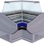 Витрина холодильная BC 3 УВ G2/A2 Ариель , внутренний угол фото