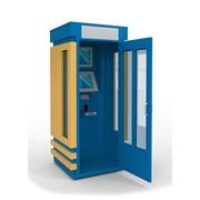 Платёжный терминал будка с дверью фото