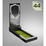 Надгробие вертикальное модель 44 фото