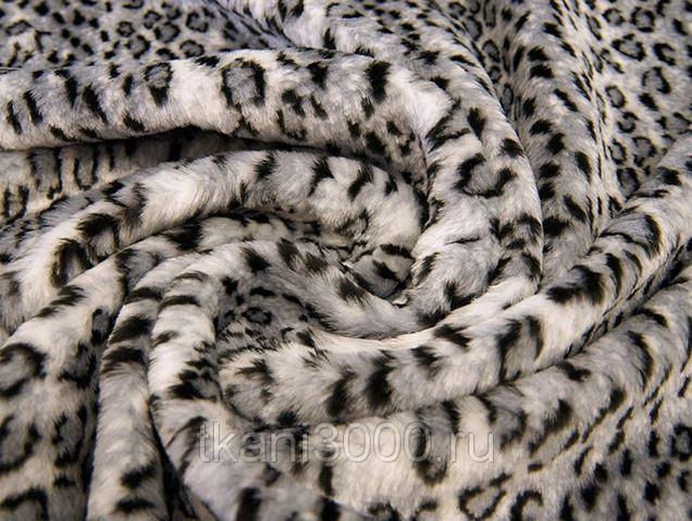 Искусственный леопардовый мех купить