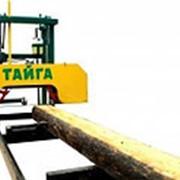 Ленточная пилорама «Тайга Т-2М» фото