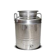 Фляга нерж. с винтовой крышкой, объём 15 литров, Италия фото