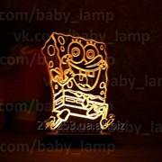 Подарок для ребенка Губка-Боб. фото
