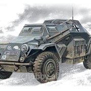 Модель ICM 1/72 Sd.Kfz.260, германский бронеавтомобиль радиосвязи фото