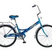 Велосипед Novatrack FS-24 2014 синий фото