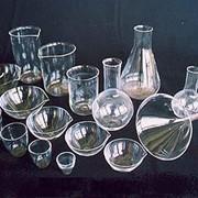 Химико-лабораторная посуда из прозрачного кварцевого стекла фото