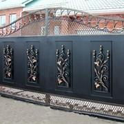 Кованые ворота решетки фото