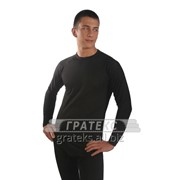 Фуфайка (термо) 670-S/BK мужская, цв.черный GUAHOO Health Angora фото