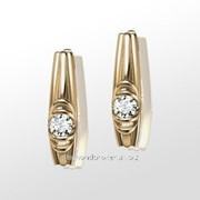 Серьги с бриллиантами E30939-3