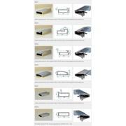 Алюминиевый профиль для мебельных фасадов (узкий, широкий) фото