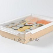 Салатник с прозрачной крышкой Салат 500 фото