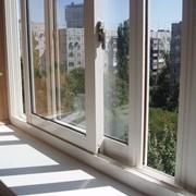 Окна пластиковые раздвижные фото