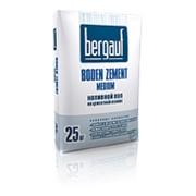Наливной цементный пол - Boden Zement Medium, быстротвердеющий 25 кг Bergauf фото
