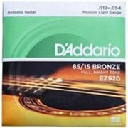 Струны для гитары Daddario EZ 920 фото