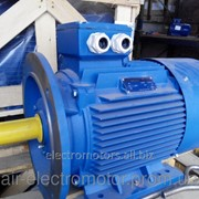 Электродвигатель АИР80А2 - 1,5кВт/ 3000 об/мин фото