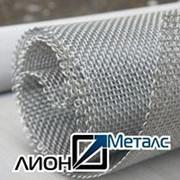 Сетка тканая с квадратными ячейками 10х10х1 2-10-1 ГОСТ 3826-82 нержавейка. Сетки тканые нержавеющие фото