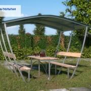 Беседка садовая Агросфера Тюльпан 3 м + мангал фото