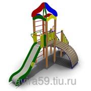 Детский игровой комплекс ИК-24 Размеры 5310х2550х3900мм фото