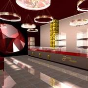 Дизайн салонов, торговых залов, холлов фото