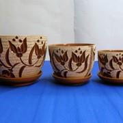 Горшки цветочные керамика фото