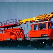Автомотриса дизельная монтажная АДМ-1 фото