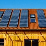 Солнечные панели. фото