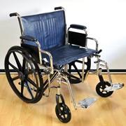 Кресло-коляска повышенной грузоподъемности LK6118-51 фото