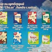 Сыр полутвердый Сваля ТМ Baltija (фас. слайсы) 200 гр./14 шт. фото