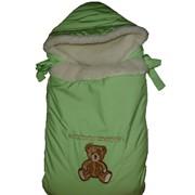 Конверт-одеяло Лапушки цвет зеленое яблоко фото