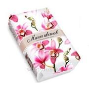 Мыло Цветочное Орхидея 75г в обертке фото