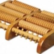 Массажер деревянный для ног - Счеты фото