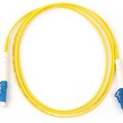 Шнур оптический LC/UPC-LC/UPC SM simplex 1м