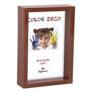 Деревянная рамка 10х15 коричневый hofmann 48-м фото