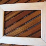 Деревянная фоторамка фото