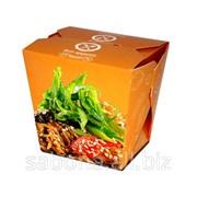 Упаковка для еды ( Лапша/Рис/Салат ) фото