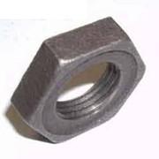 Контргайка стальная 40 ГОСТ 8968-75, оцинкованная фото