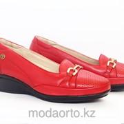 Туфли женские красного цвета 18032 Forelli фото